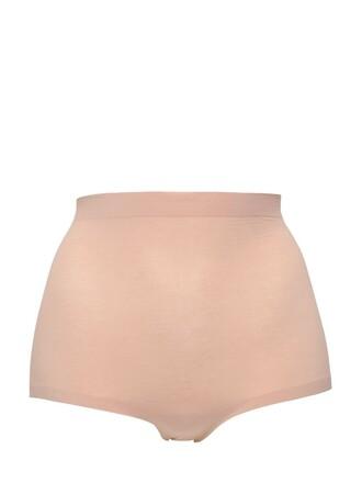 cotton pink beige underwear