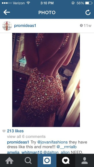 prom dress backless beaded prom gown prom promdresses glitter dress glitter prom dress glitter gown fashion beaded dress beaded ball gowns rhinestones rhinestone gorgeous open back prom dress