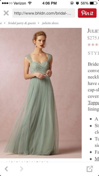 dress greene prom