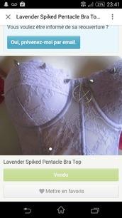 top,crop tops,pentagram,spikes,corset top,white top,lace top,bustier top