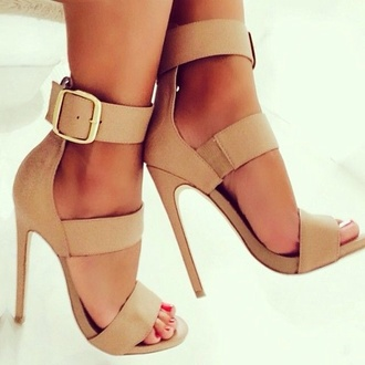 shoes heels tan shirt high heels nude sandals nude shoes nude high heels classy blouse wave