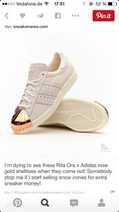 shoes,sneakers,metal toe,adidas superstars,adidas,adidas originals,sneakerhead,whitegold
