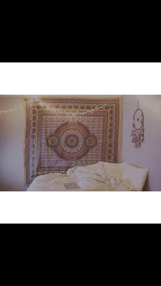 scarf tapestry wall