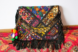 bag purse colorful little coins gypsy hippie boho chic boho jewelry bohemian home accessory accessories summer accessories style fashion boho bag