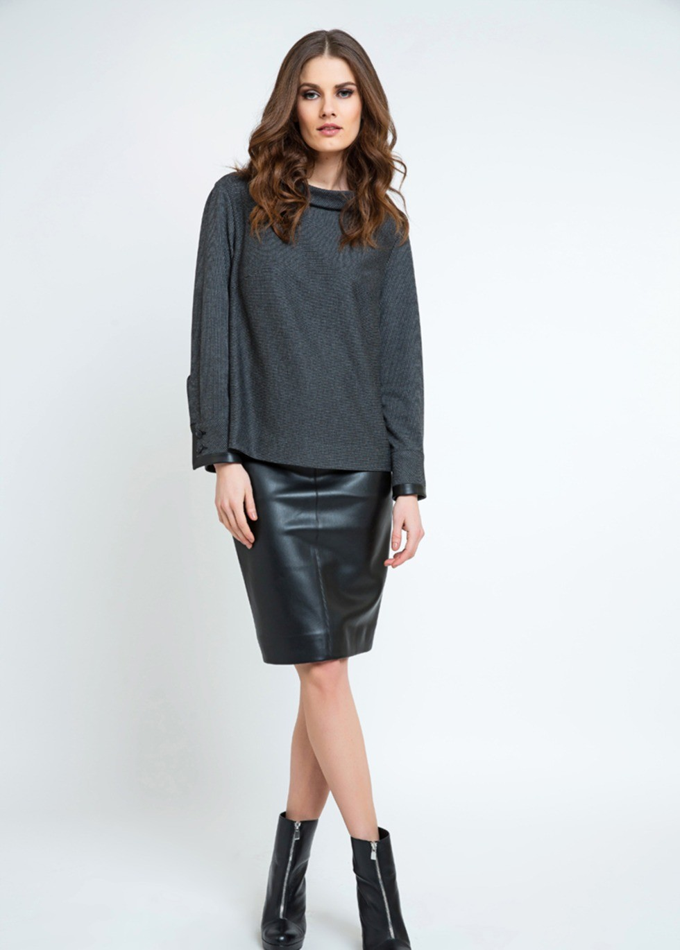 Pleather Pencil Skirt | ModLi
