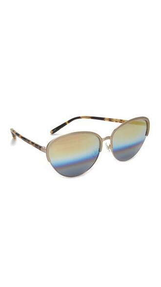 rainbow beach sunglasses mirrored sunglasses gold
