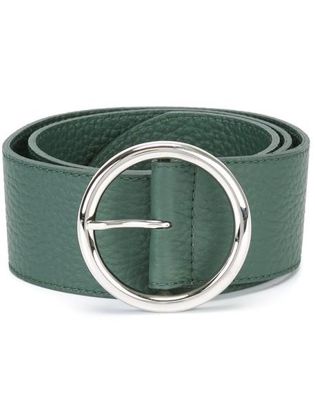 Orciani women belt leather green