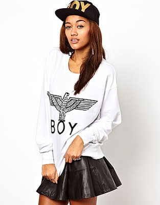 ASOS Fashion Finder | BOY London Eagle Sweatshirt