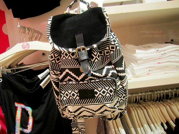 bag aztec backpack woven backpack