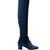 Essence velvet over-the-knee boots