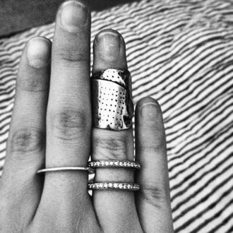 jewels ring sticking plaster plaster sticking silver ring dope fashion killa nice beautiful silver insta riri streetstyle texture