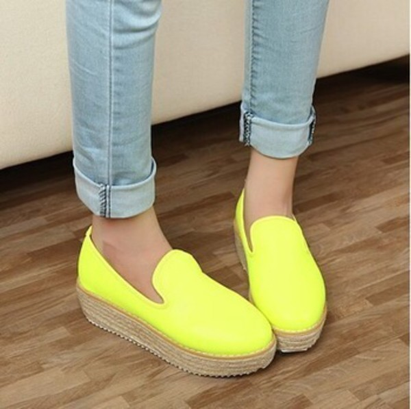 shoes beach yellow nice colorful coloures