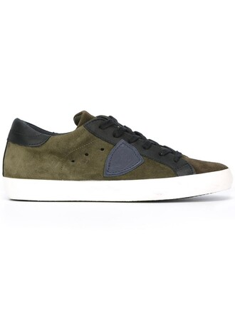 women sneakers leather suede green shoes
