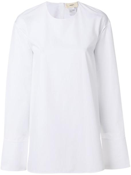 Ports 1961 - plain sweatshirt - women - Cotton - 36, White, Cotton