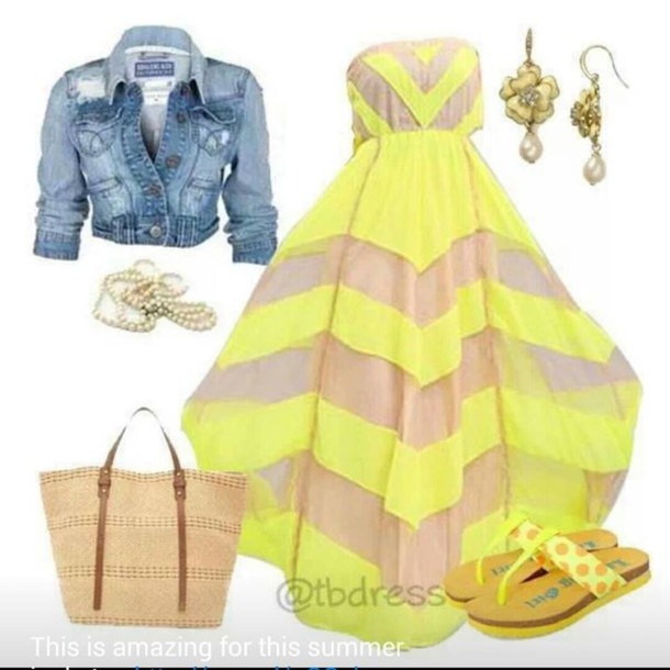 dress denim jacket yellow summer dress jacket