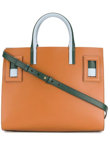 women bag tote bag leather brown