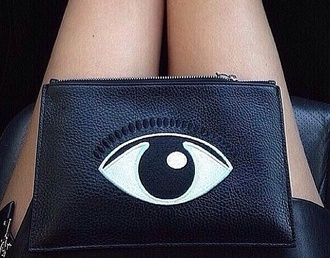 bag eye eyelashes lashes purse
