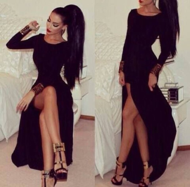 Long Sleeve Tight Dresses Tumblr