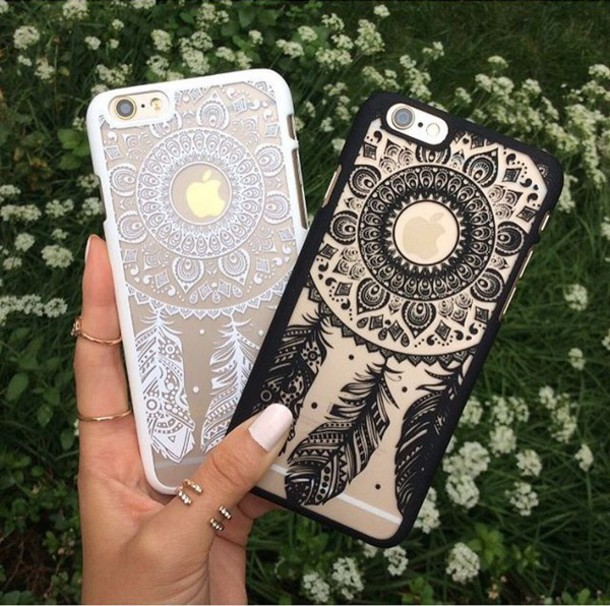 reputable site 49150 9de0b HENNA Flower Paisley Tribal Elephant Cover Phone Case for iPhone 5 5S 5C 6  Plus
