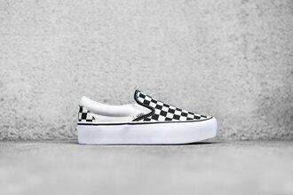shoes vans platform shoes sneakers platform sneakers slip-ons platform slip-ons vans platform shoes checkerboard