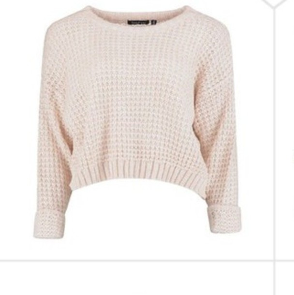 sweater cropped sweater