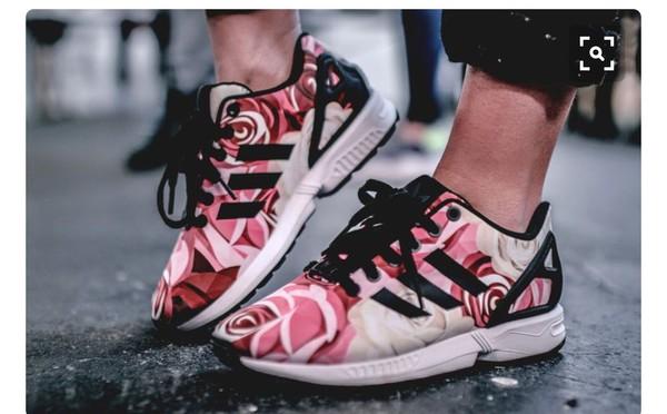 adidas zx flux white zalando