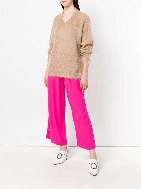 Miu Miu Knitted Jumper - Farfetch