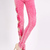 ROMWE | Hollow-out Bow-tied Slim Rose Pants, The Latest Street Fashion