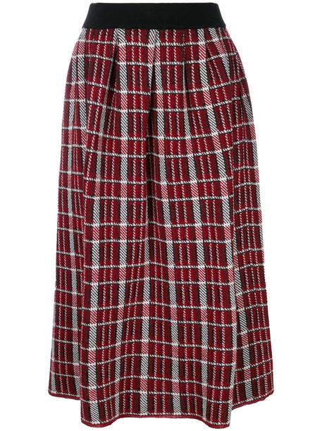 I'M ISOLA MARRAS skirt midi skirt women midi wool red