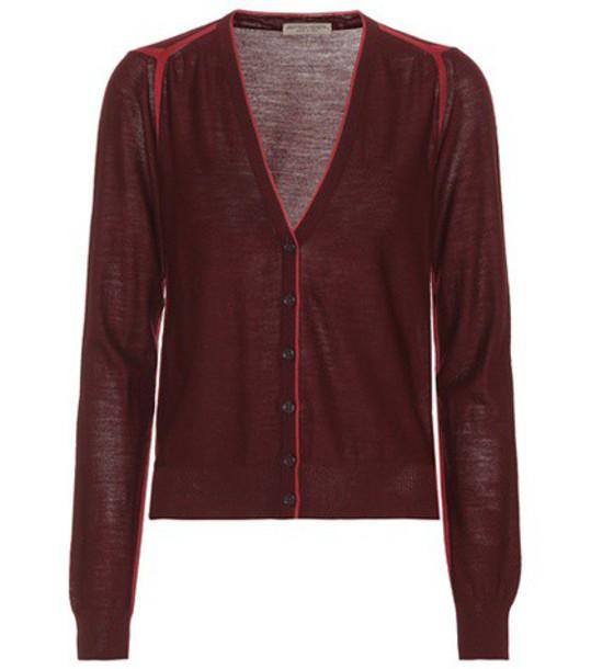 Bottega Veneta cardigan cardigan wool red sweater