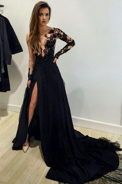 Formal Dress with Slit