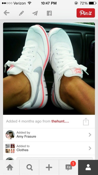shoes nike tennis shoes white shoes pink shoes nike running shoes nike sneakers nikeshoes running shoes