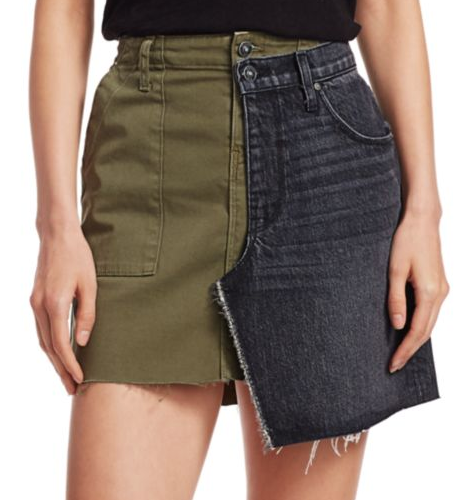 Hudson Jeans Wrap-Around Skirt