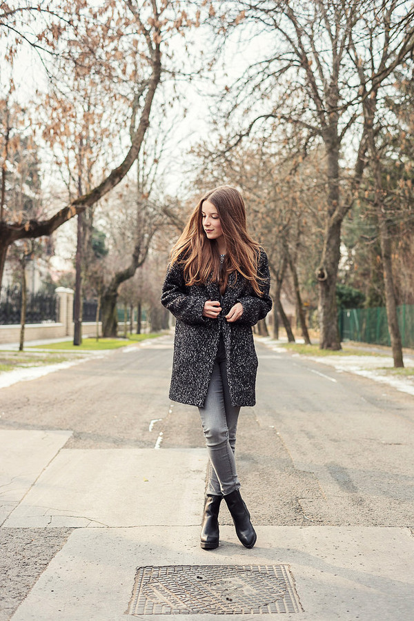 iemmafashion coat jeans blouse jacket shoes jewels