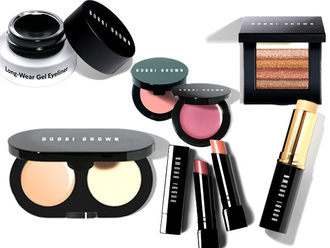 make-up bobby brown bronzer liquid eyeliner blush cheek blush lipstick concealer concealer palette