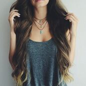jewels,awesome shirt,t-shirt,grey,beautiful,nice,style,shirt,long hair,top,tank top,grey shirt,grey top,grey tank top,necklace,boho,tooth necklace,fang necklace,choker necklace,charm choker,tumblr fashion,jewelry,necklaxr,tumblr,tumblr girl,brunette,summer,vest,cute,hipster,grunge,vest top,blouse,straps,floaty,grey t-shirt,cute shirt,gray shirt
