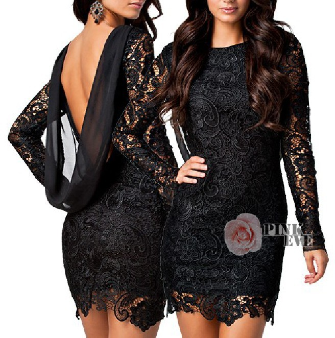 Free shipping  Fashion sexy hollow lace halter bodycon dress. party dress   TB 5860(Blue. Silver. Black RED WHITE in stock)-in Apparel & Accessories on Aliexpress.com