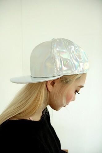 hat cap holographic dope