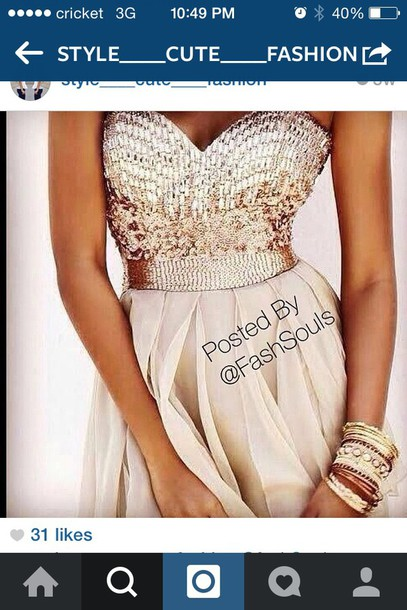 dress gold sequin dress long prom dress