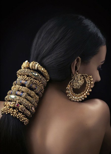 hair accessory jewelry hair accessory gold bollywood