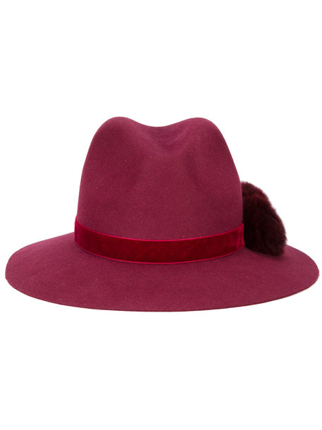 hat fedora red