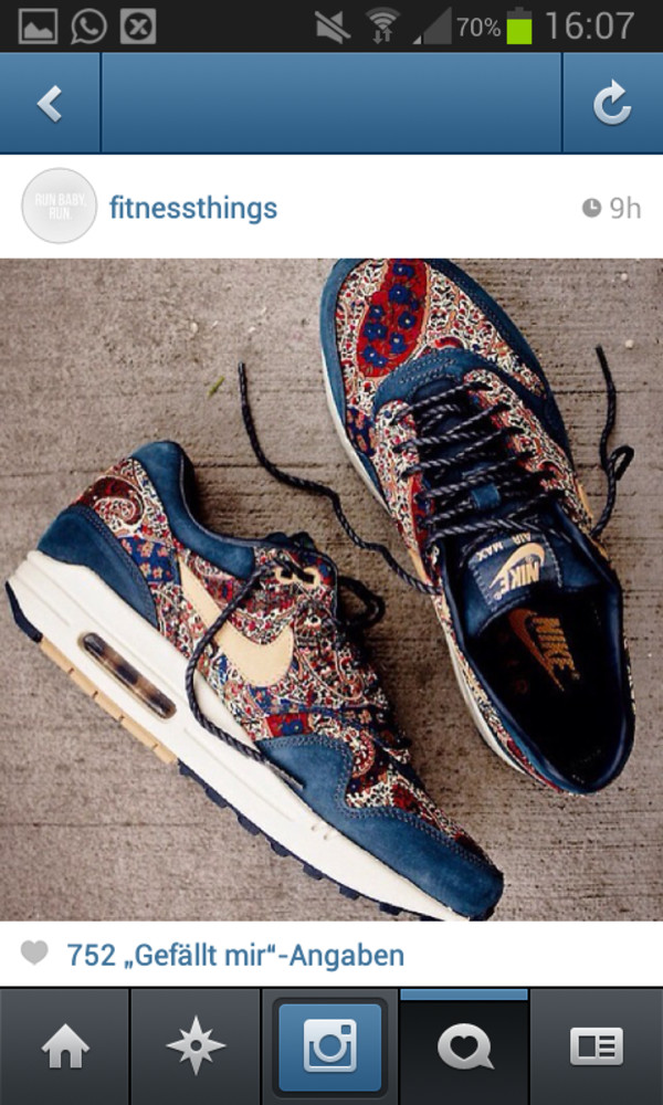 shoes air max batik colorful nike