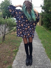 blouse,shirt,sun,moon,stars,overshirt,clothes,dress,tumblr,space,grunge,aesthetic