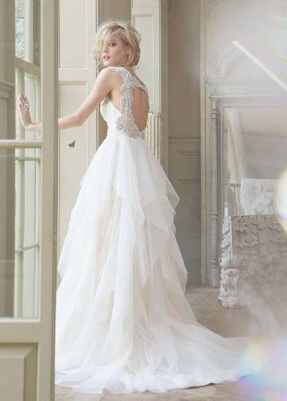 dress clothes: wedding wedding dress lace wedding dresses white dress white
