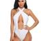 Avidlove women halter swimsuit crisscross one piece monokini swimwear bathing suit wirefree padded beach wear teddy