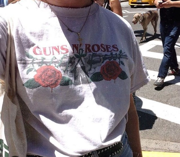 t-shirt guns and roses gun roses guns and roses