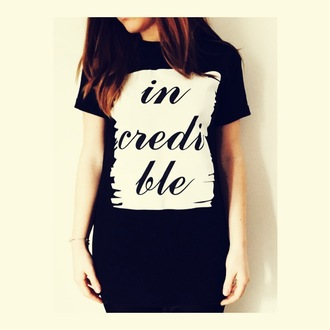 t-shirt tshirt dress t-shirt with print clothings clothes fashion fw london style incredible tee casual t-shirts comfortable outfit chic urban streewear hippie chic