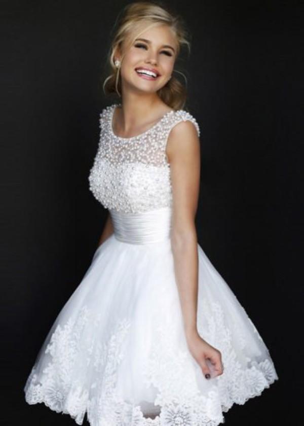 White Dresses For Cheap Photo Album - Reikian