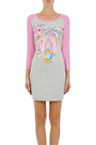 Moschino dress short dress short multicolor