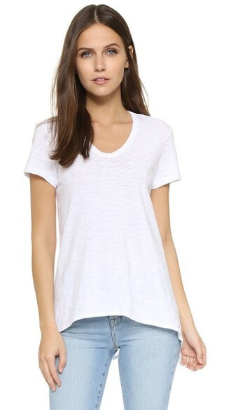 boyfriend white top